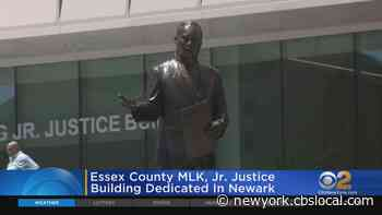 Essex County Martin Luther King, Jr. Justice Building Dedication In Newark - CBS New York