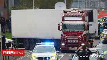 Essex lorry deaths: Man arrested at petrol station in probe - BBC News