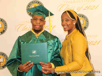 Montclair grad 'beat the odds' to earn associate degree at Essex County College - Montclair Local
