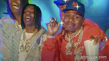 Polo G & DaBaby Hall Of Fame Stunt For 'Party Lyfe' Video
