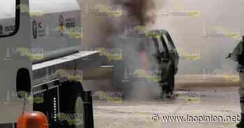 Se incendia camioneta en Cerro Azul - La Opinión