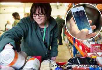 Food bank parcels to include SIM cards from Vodafone - Newbury Today