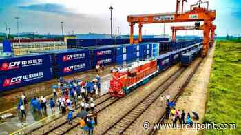 China-Europe freight train adds new route to Germany's Hamburg - UrduPoint News