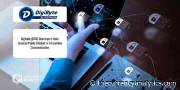 Digibyte (DGB) Developers Have Created Public Gitchat to Streamline Communication - The Cryptocurrency Analytics