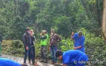 Obras de manutenção da Serra Velha são retomadas   Petrópolis   O Dia - O Dia
