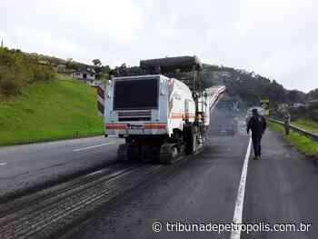 BR-040: Trechos da subida da serra em meia pista nesta quinta-feira; confira:   Tribuna de Petrópolis - Tribuna de Petrópolis
