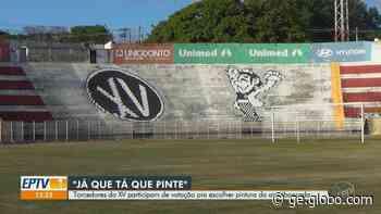 XV de Piracicaba abre votação para nova pintura do Barão da Serra Negra; veja opções - globoesporte.com