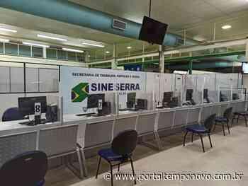 Empresas da Serra abrem 397 vagas de emprego para moradores nesta quarta - Portal Tempo Novo