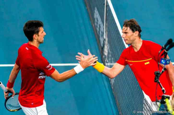 Rafael Nadal: 'I personally had the chance to live 3 of them and had the honor...'