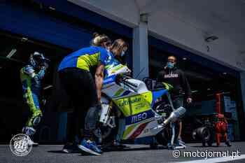 Miguel Oliveira Racing Team leva quatro pilotos ao ESBK em Aragão - MOTOJORNAL - Motojornal
