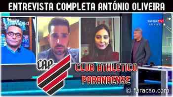 António Oliveira se emociona em participação no Bem, Amigos - Furacao.com
