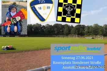 TuS St. Hubert und die Berufsfeuerwehr Krefeld spielen für Maximilian - FuPa - das Fußballportal