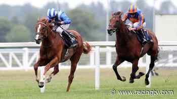 Derby absentee Mohaafeth strikes in dramatic Hampton Court Stakes - Racing TV