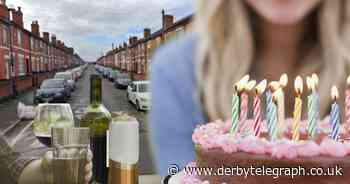 Derby woman held illegal booze-fuelled party for her child during lockdown - Derbyshire Live