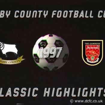 Classic Highlights: Derby County Vs Arsenal (1997) - Blog - Derby County Football Club
