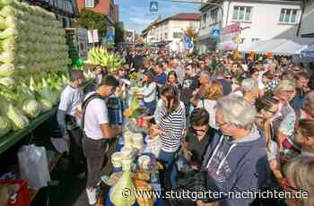 Leinfelden-Echterdingen - Das Krautfest wird zweigleisig geplant - Stuttgarter Nachrichten