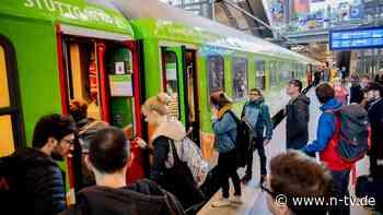 Mehr Züge, kürzere Reisezeiten: Flixtrain-Chef zufrieden mit Neustart