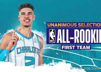 LaMelo Ball Named to 2020-21 All-Rookie First Team