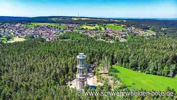Atemberaubende Aussicht - Jetzt öffnet Deutschlands höchster Holzturm in Schömberg - Schwarzwälder Bote
