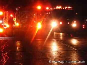 Transport fire near Colborne - Quinte News