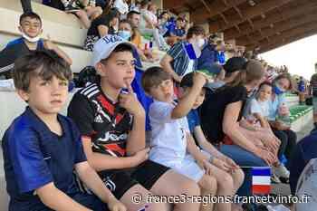 VIDEO. Euro : la fan zone de Bron fait le plein de supporters des Bleus et de l'enfant du pays, Karim Benzema - France 3 Régions
