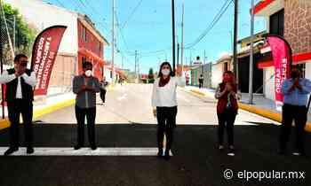 Entrega Claudia Rivera obras públicas en San Baltazar Campeche - El Popular