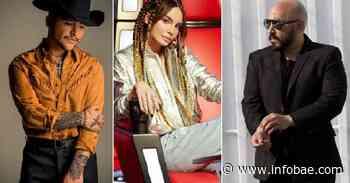 Christian Nodal rompió el silencio sobre la decisión de Lupillo Rivera de destruir su tatuaje de Belinda - infobae