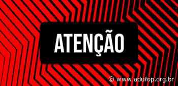 Servidores da UFOP lotados em Ouro Preto podem se vacinar nesta quinta (17) - Adufop