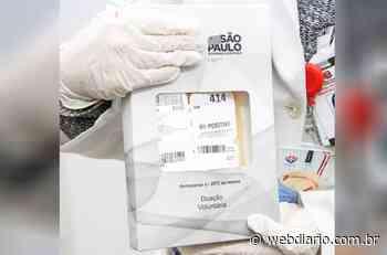 Osasco recebe do Instituto Butantan plasma para tratar pacientes com Covid - WebDiario