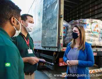 Osasco: Fundo Social recebe doação de 1.200 cestas básicas - Jornal O Anhanguera
