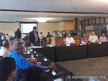 Participa Edgar Chaparro en Mesa de Seguridad y Justicia en Parral - El puntero