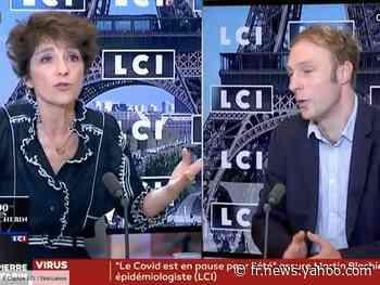 """""""C'est pas la modestie qui vous étouffe !"""" : passe d'armes entre Martin Blachier et Elizabeth Martichoux sur LCI - Yahoo Actualités"""