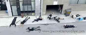 Un clip qui a été filmé avec de fausses armes tourne mal - Le Journal de Montréal