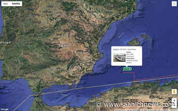 BC Ferries newest vessel having mechanical issues in Mediterranean – Saanich News - Saanich News