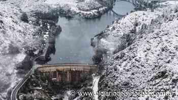 Parece una postal de Canadá, pero es el lago San Roque - El Diario de Carlos Paz