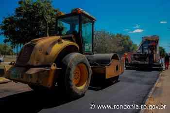 """Estradas, Transportes, Serviços Públicos - """"Tchau Poeira"""": início das obras em Ariquemes - Governo do Estado de Rondônia"""
