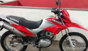 Motocicleta roubada junto com hóstias é recuperada pela polícia em Bacabal - Imirante.com