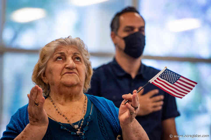 'I feel whole today': LA ceremony welcomes 26 new U.S. citizens