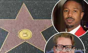 Michael B. Jordan, Macaulay Culkin among latest group to get a star on the Hollywood Walk of Fame