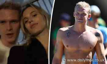 Cody Simpson kisses girlfriend Marloes Stevens on the dancefloor after bombing out of swim trials