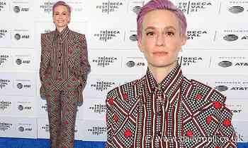 Megan Rapinoe oozes star power as she attends the premiere of LFG at the 2021 Tribeca Festival
