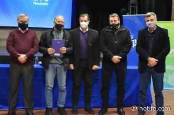 La provincia entregó aportes a localidades del departamento San Jerónimo - Noti Fe