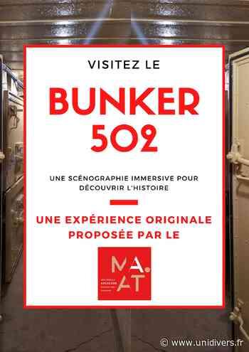 Visite Guidée du Bunker 502 Arcachon jeudi 1 juillet 2021 - Unidivers