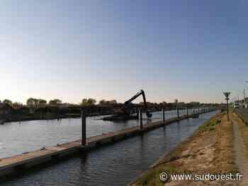 Bassin d'Arcachon : le dragage du port de La Teste sera terminé à la fin de la semaine - Sud Ouest