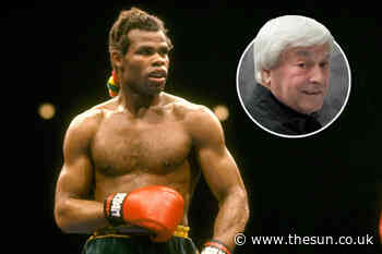 Kirkland Laing was the most gifted Brit boxer never to win a world title but he tragically threw away a... - The Sun