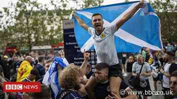 Euro 2020: London hosts growing Tartan Army ahead of match