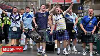 Euro 2020: Scotland supporters head south for Friday's England game