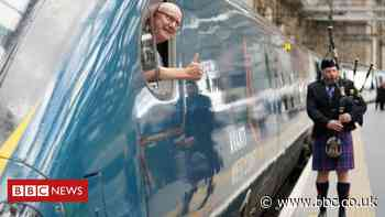 London to Glasgow fastest rail journey attempt fails by 21 seconds