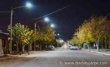 Más luces LED se encienden en distintos barrios de Santa Lucía - Diario Huarpe