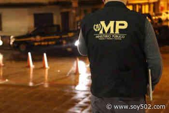 FECI realiza allanamiento en Santa Lucía Milpas Altas - Soy502